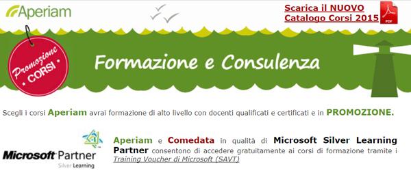 Formazione e consulenza - Promo corsi: 24/09/2015