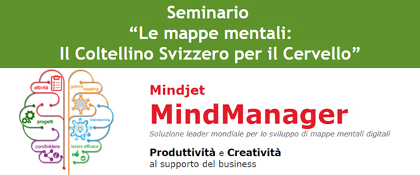 """Seminario  """"Le mappe mentali: Il Coltellino Svizzero per il Cervello"""": 17/06/2015"""