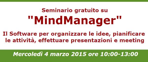 Seminario MindManager: 4/3/2015