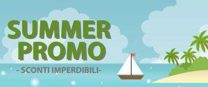 Summer promo: sconti imperdibili