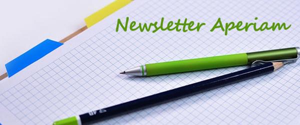 Newsletter Aperiam: Giugno 2016