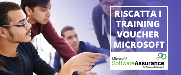 Riscatta i training voucher Microsoft