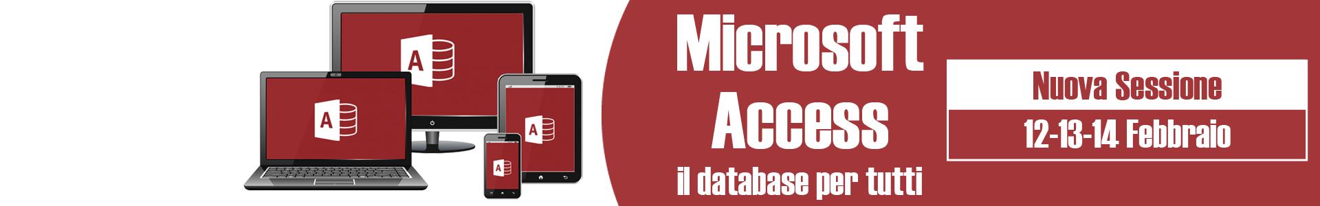 corsi Microsoft Access