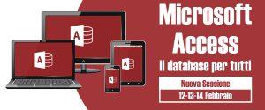 Corso Microsoft Access - Roma, 12-13-14 febbraio