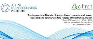 Trasformazione Digitale: il senso di un rivoluzione di senso - Roma, 23 maggio