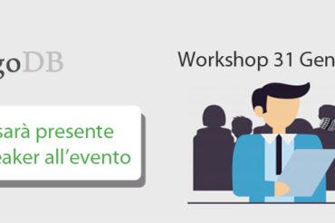 Aperiam speaker evento MongoDB