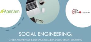 Corso Aperiam: SOCIAL ENGINEERING