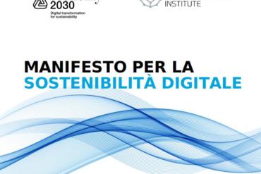 Manifesto Sostenibilità Digitale