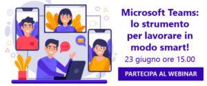 Microsoft Teams:  lo strumento per lavorare in modo smart