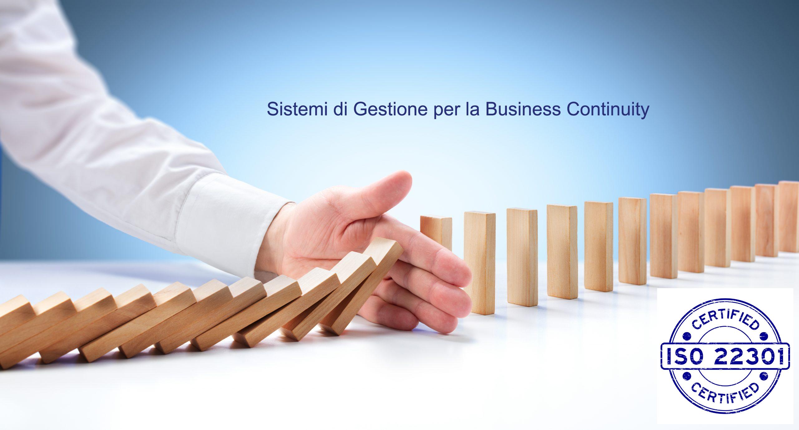 Corso ISO 22301