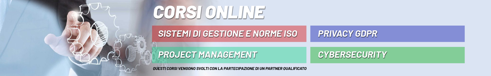 Corsi online ISO