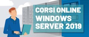 Corsi Online Windows Server 2019