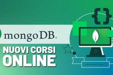 MongoDB nuovi corsi online