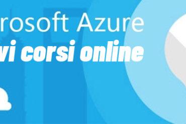 Corsi online Microsoft Azure